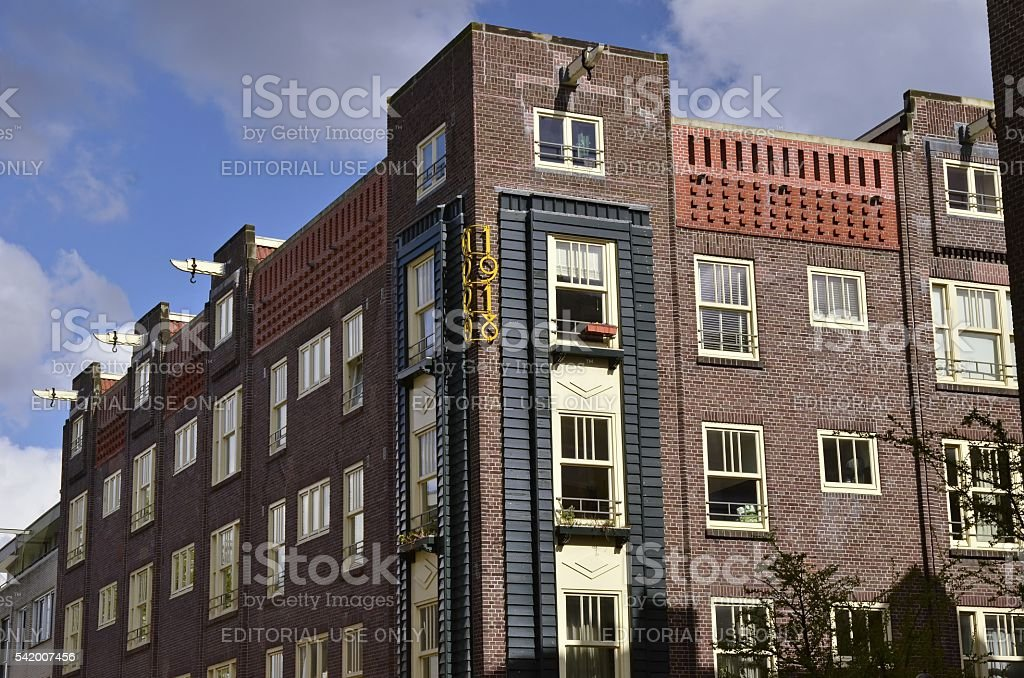 The 1918 Building stock photo
