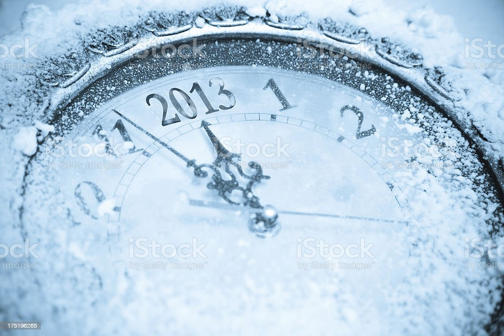 The 2013 countdown royalty-free stock photo