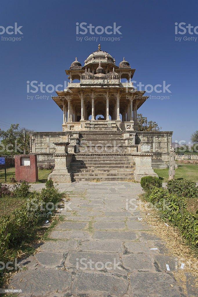 The 84 Pillared Cenotaph stock photo