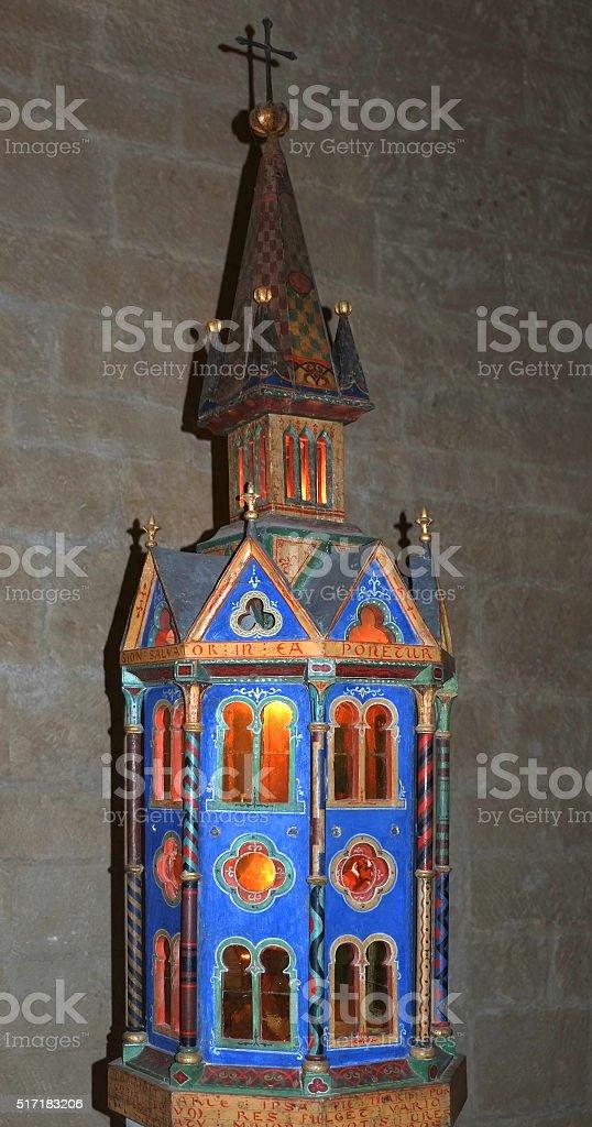 The abbey Notre-Dame de Sénanque - Luberon stock photo