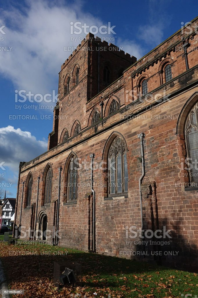 The Abbey stock photo