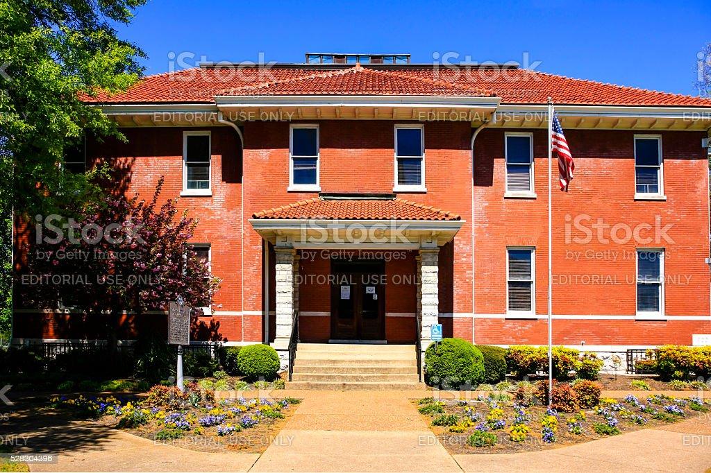 The Academic building on Fisk University campus in Nashville TN stock photo