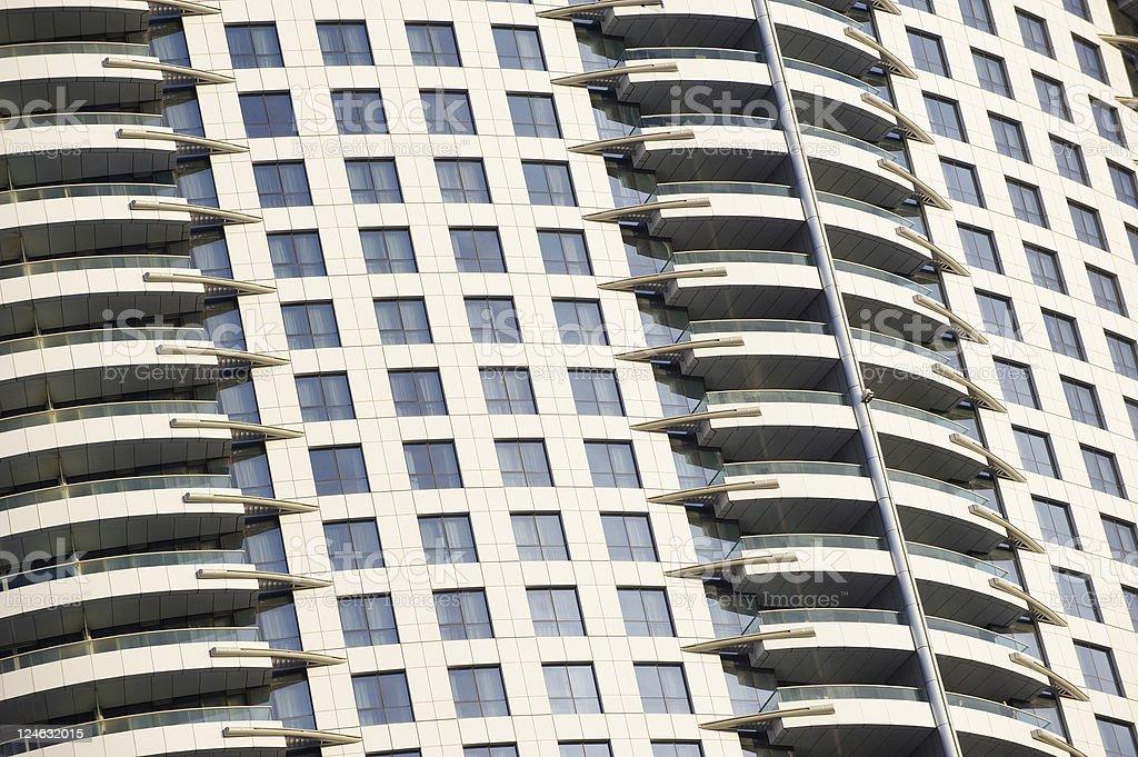 the Address Downtown Burj Dubai royalty-free stock photo