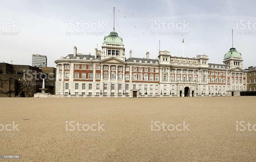The Admiralty in Horse Guards Parade London stock photo