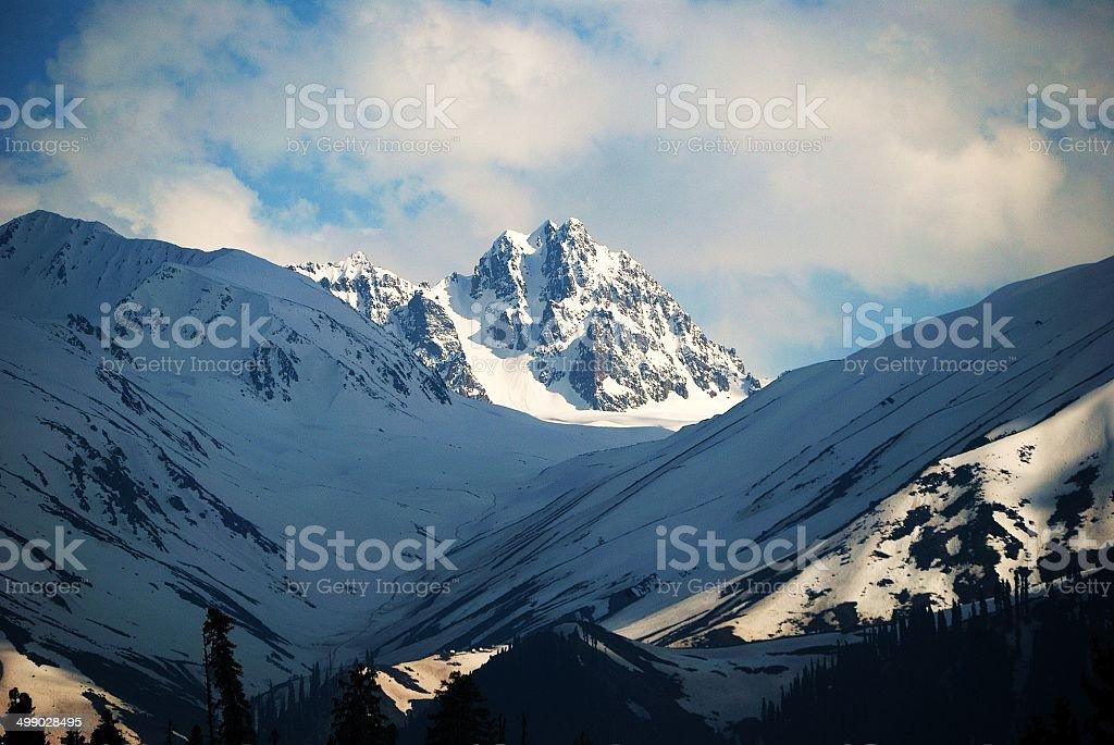 The Afarwat slopes... stock photo