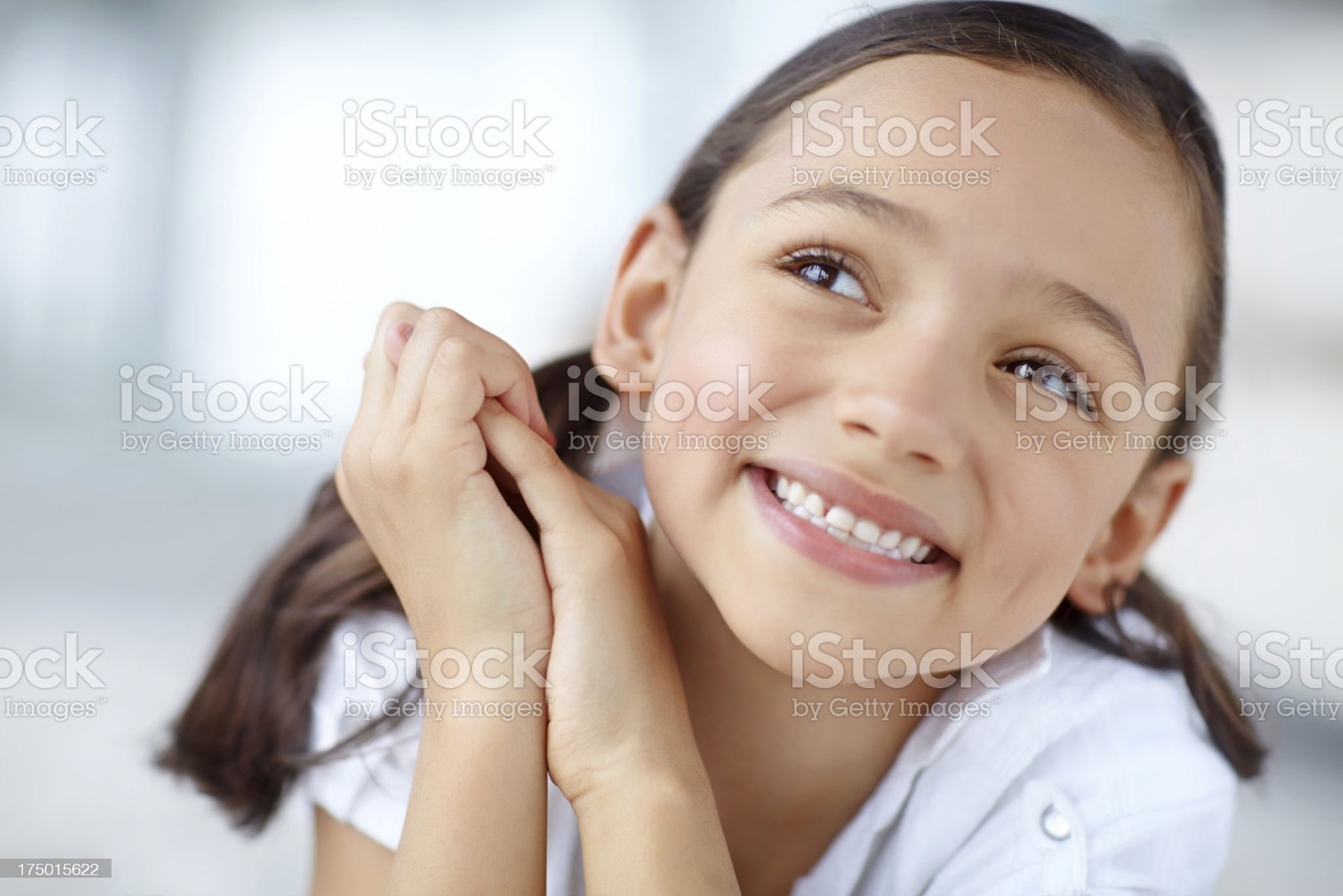 The age of innocence royalty-free stock photo