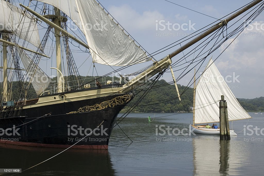 The Age of Sail stock photo