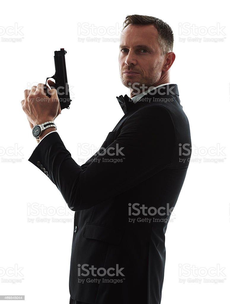 The agency's top spy stock photo