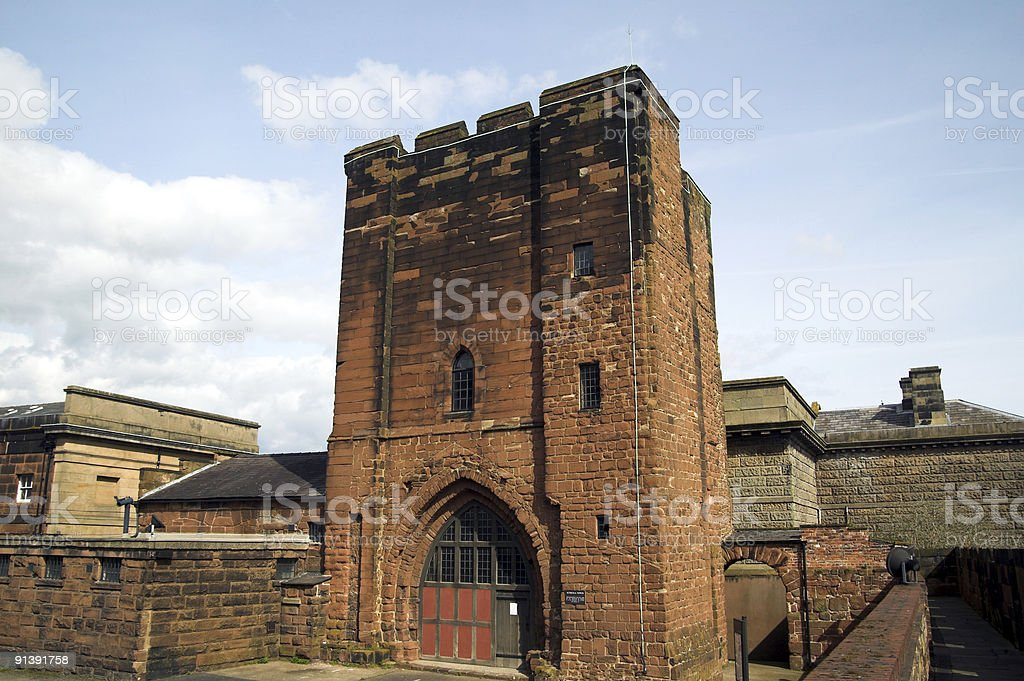 The Agricula Tower, Chester Castle. royalty-free stock photo