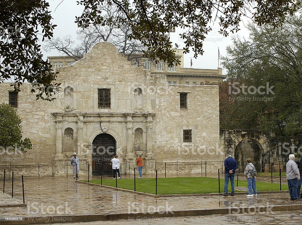 The Alamo 6 royalty-free stock photo