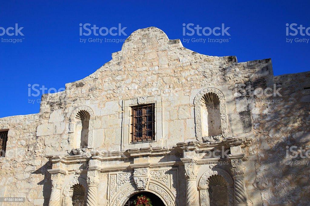 The Alamo in San Antonio stock photo