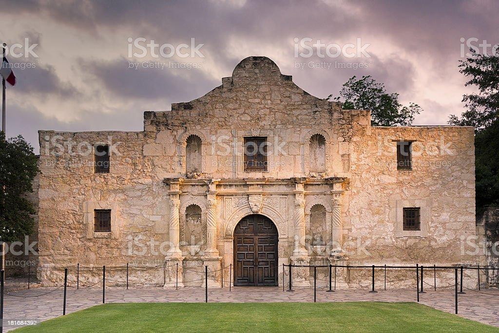 The Alamo, San Antonio, TX royalty-free stock photo