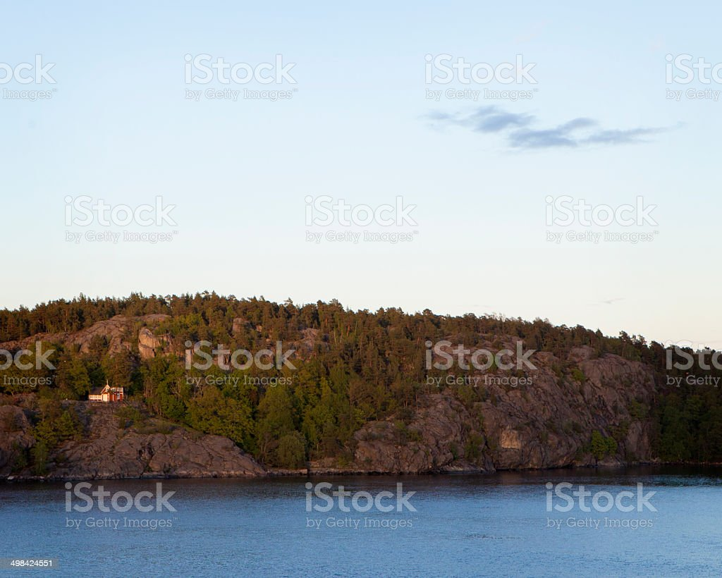 The Aland Islands, Finland stock photo