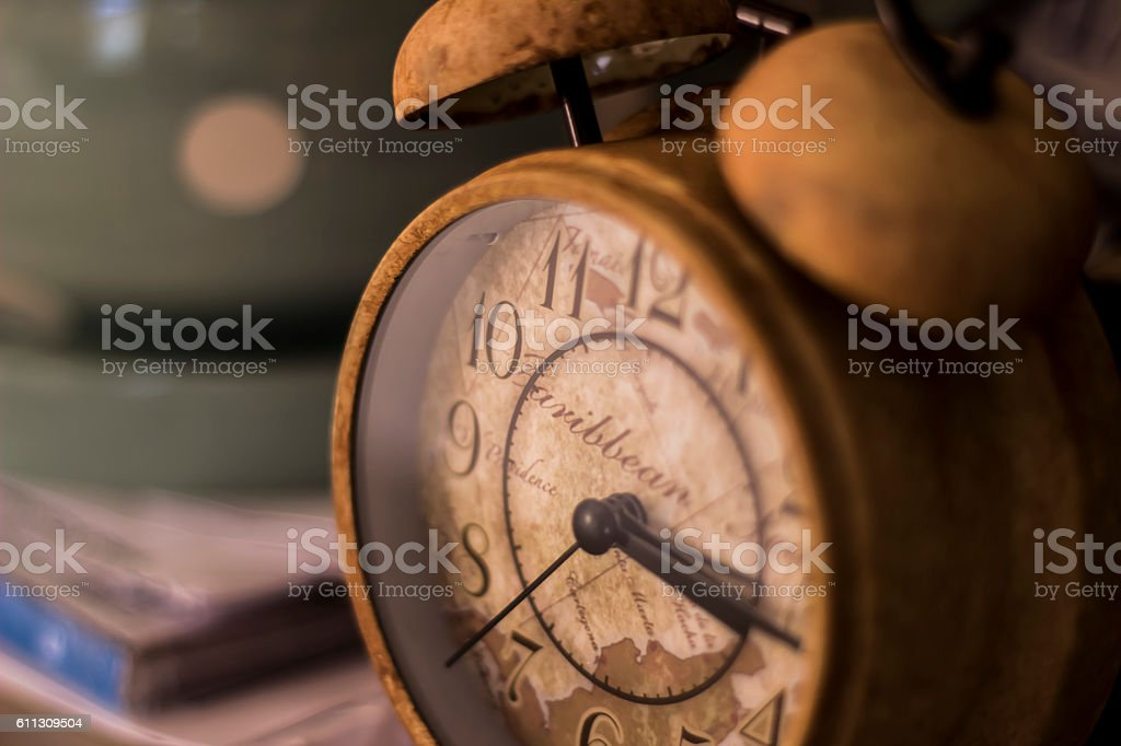 The Alarm Clock stock photo