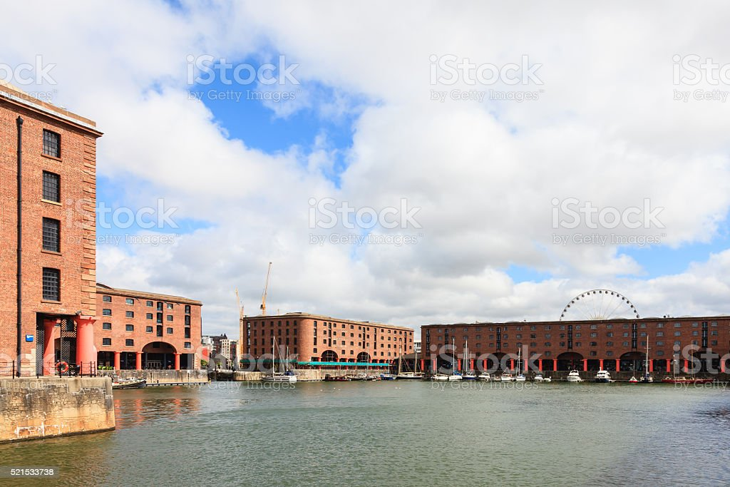 The Albert Dock stock photo
