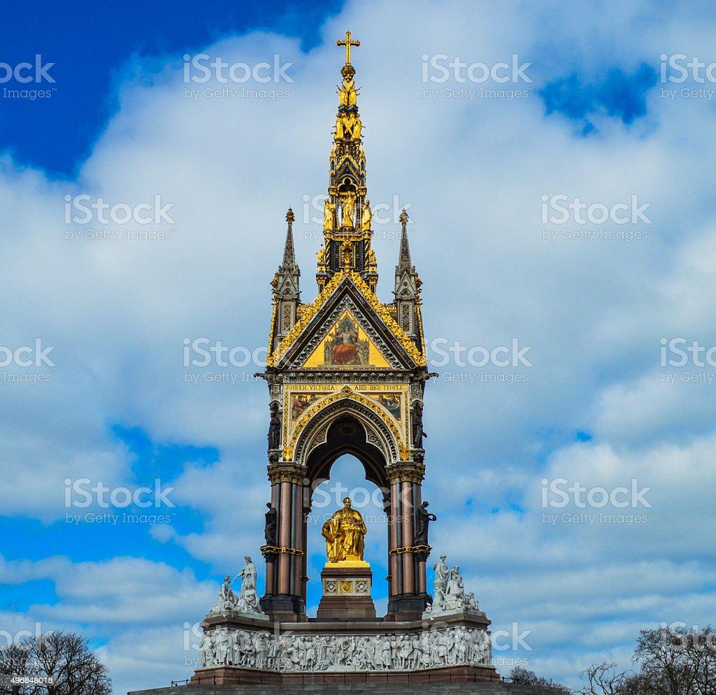 The Albert Memorial - London, UK stock photo