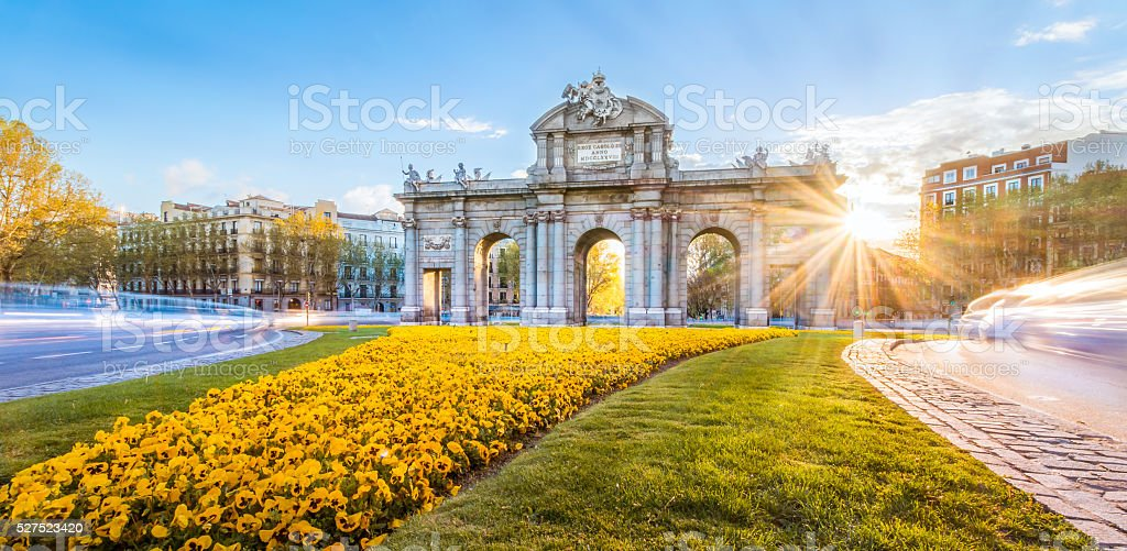 The Alcala Door stock photo