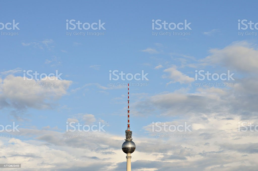 the 'alex' radiotower berlin stock photo