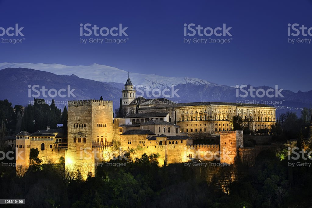 The Alhambra stock photo