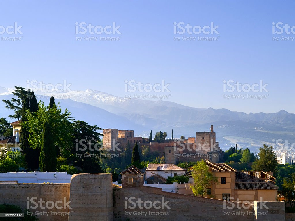 The Alhambra. royalty-free stock photo