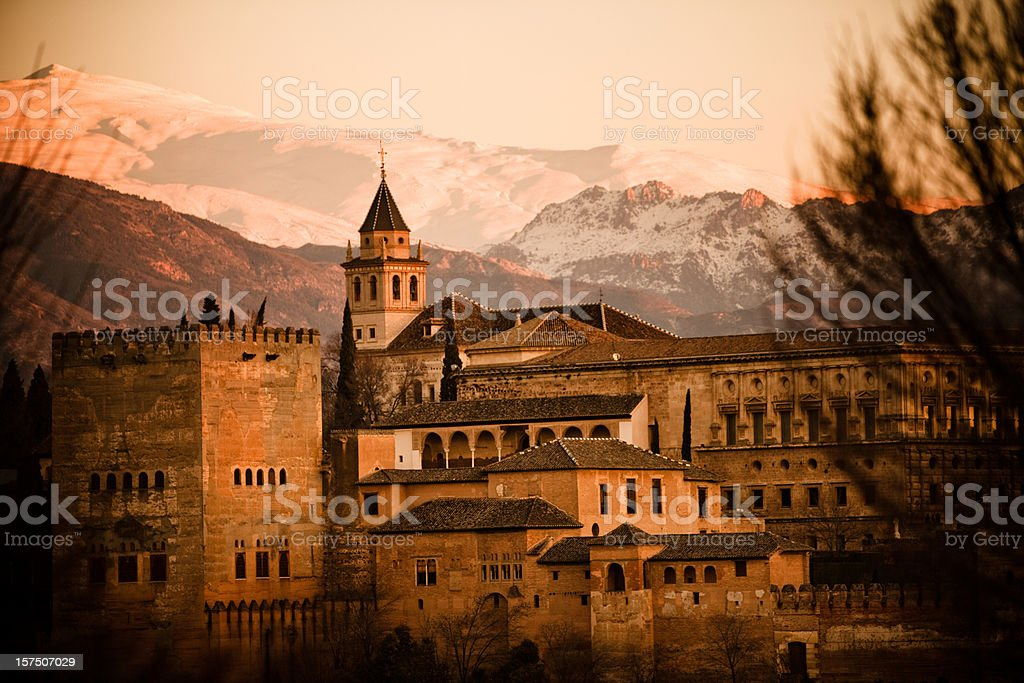 El Alhambra royalty-free stock photo