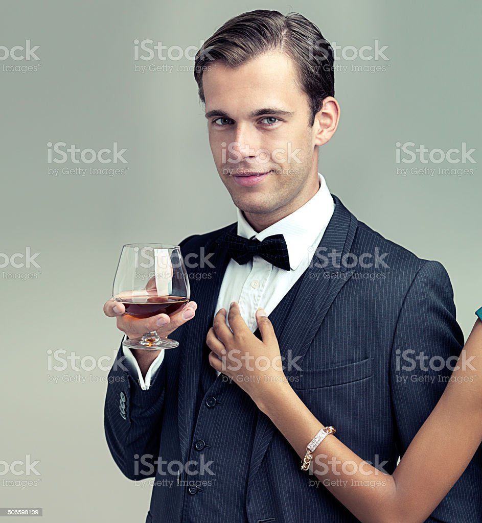 The all-too-eligible bachelor stock photo