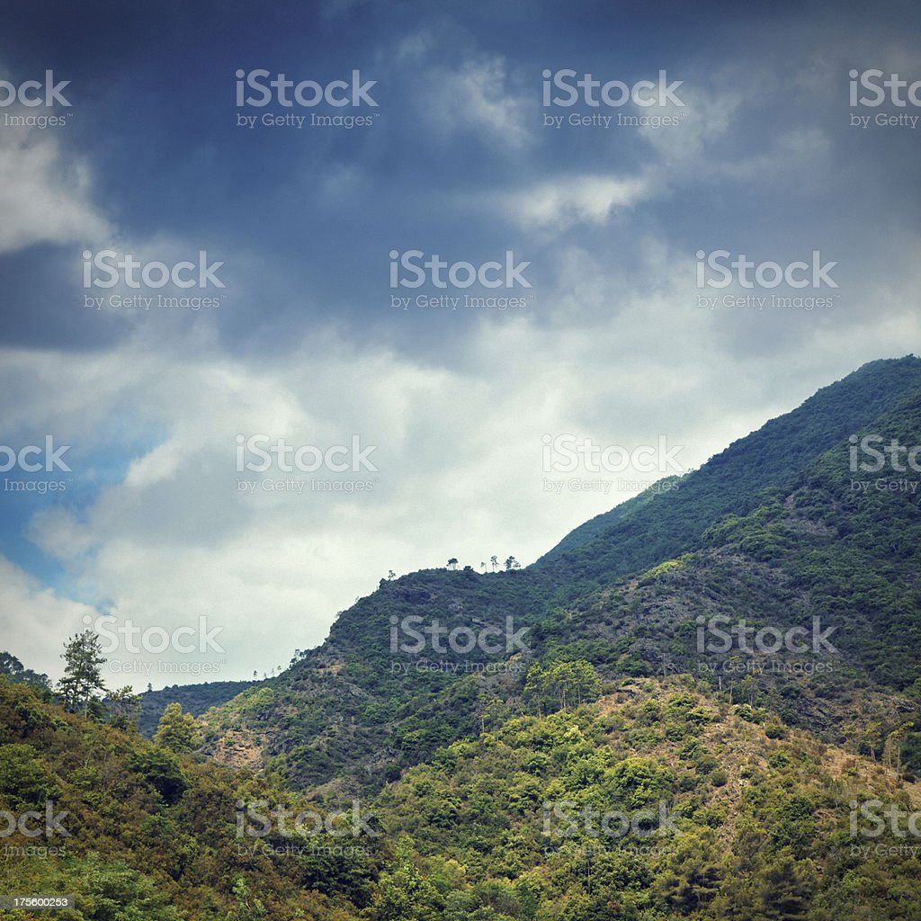The Alps in Italy stock photo