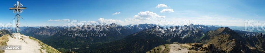 The Alps -  panorama royalty-free stock photo