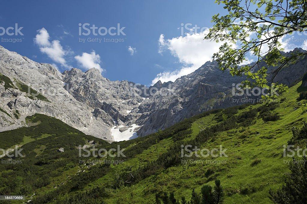 The Alps royalty-free stock photo