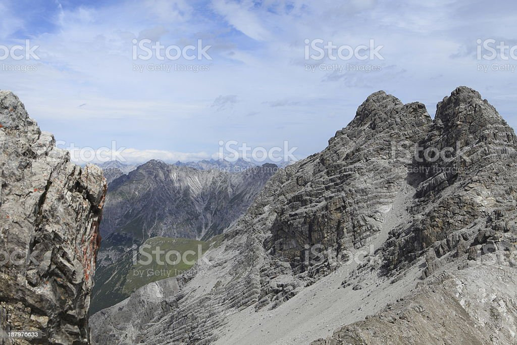 Die Alpen stock photo