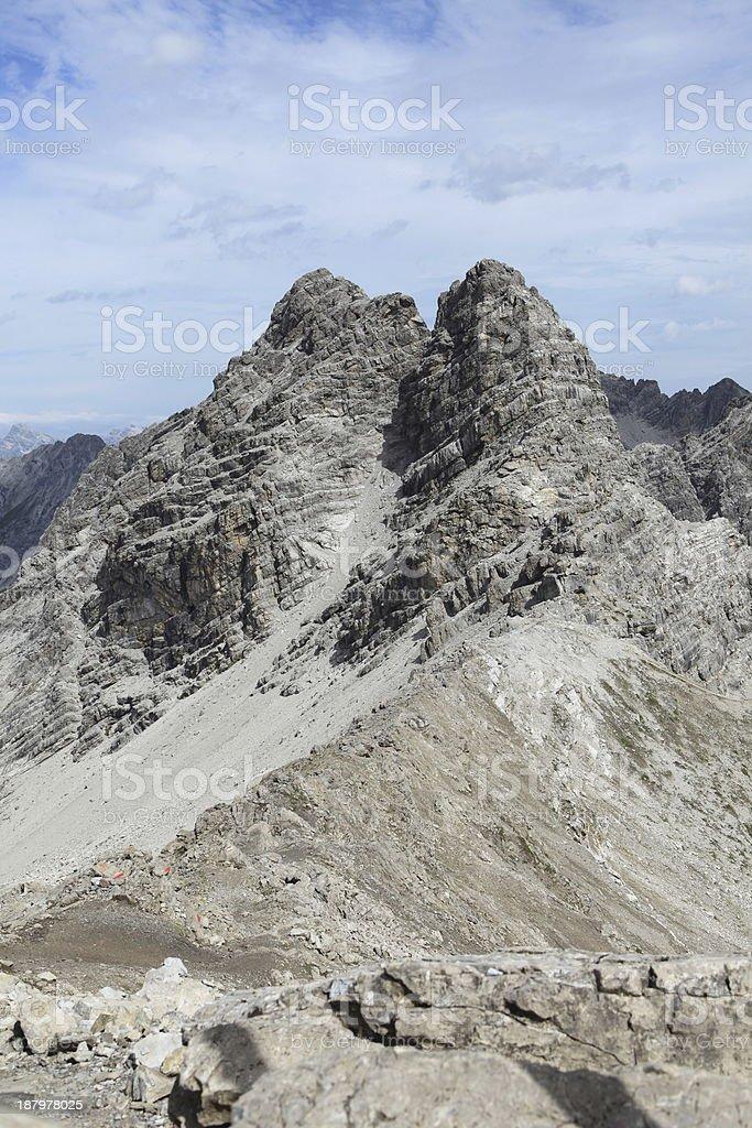 Die Alpen stock photo