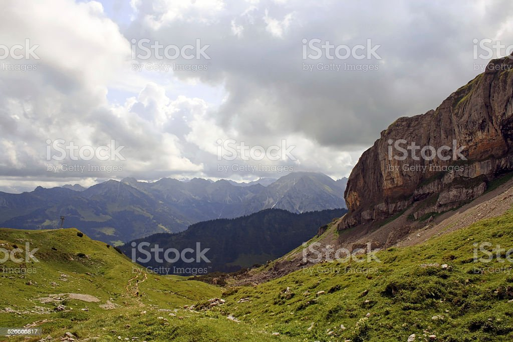 The Alps stock photo