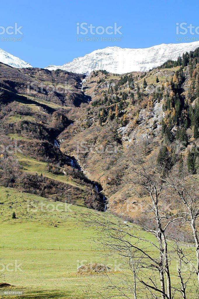 The Alps stock photo