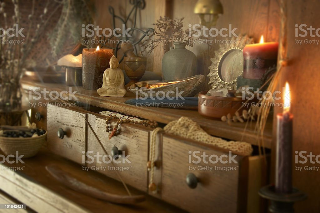The Altar royalty-free stock photo