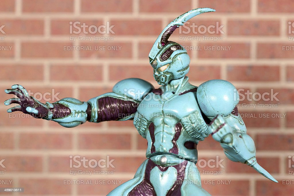 The Amazing Bio Boosted Armor stock photo