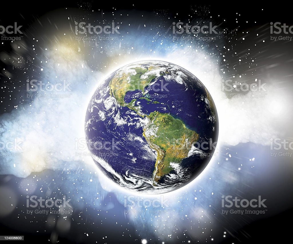 The Amazing Planet royalty-free stock photo