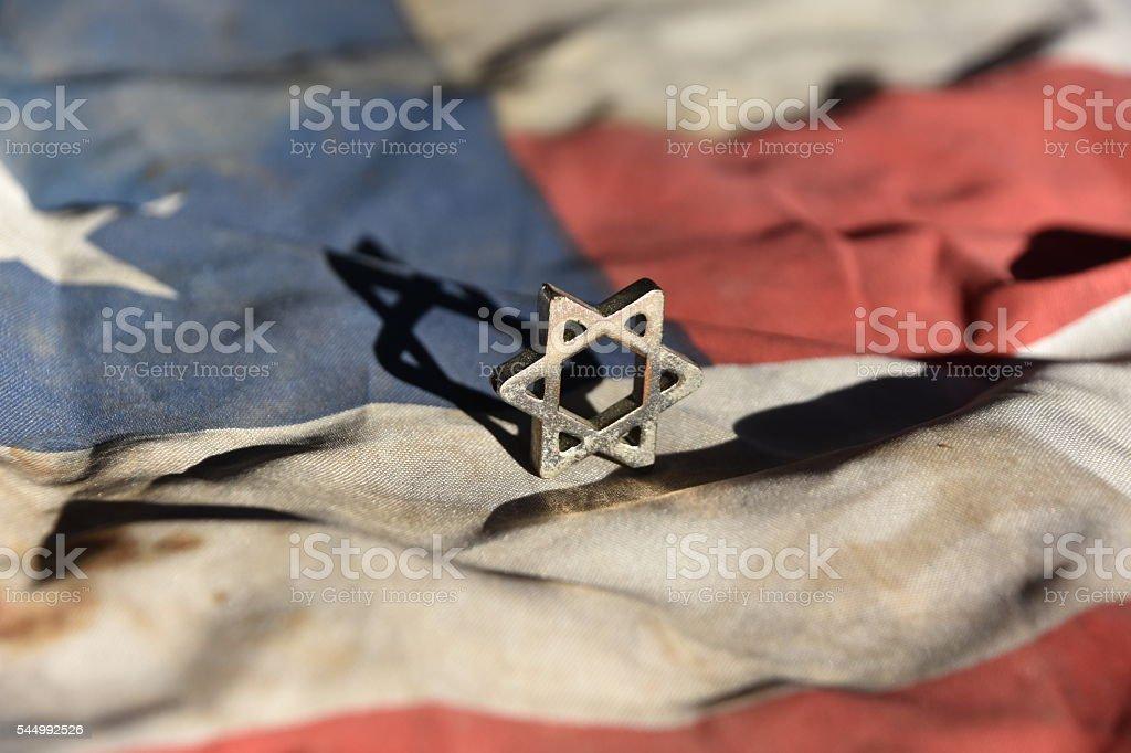 The American Jewish community Concept stock photo