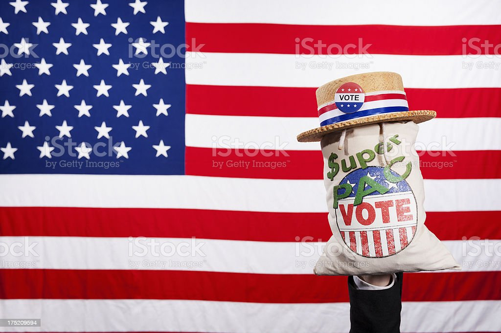 The American Voter - Businessman stock photo