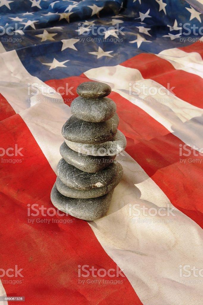 The American way stock photo
