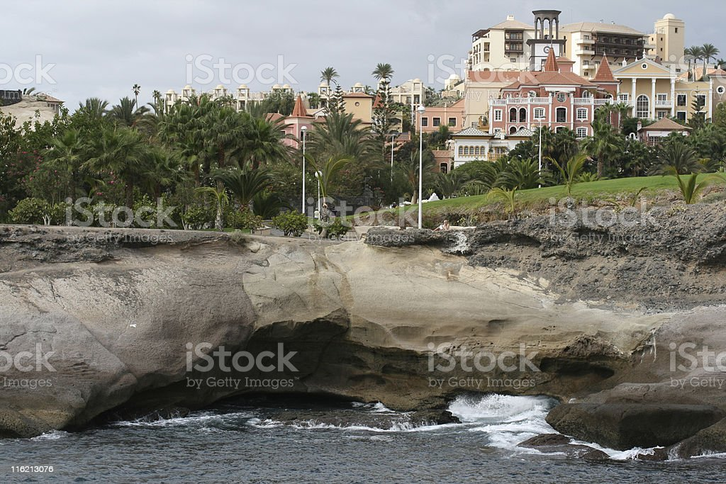Las Americas (Tenerife) stock photo