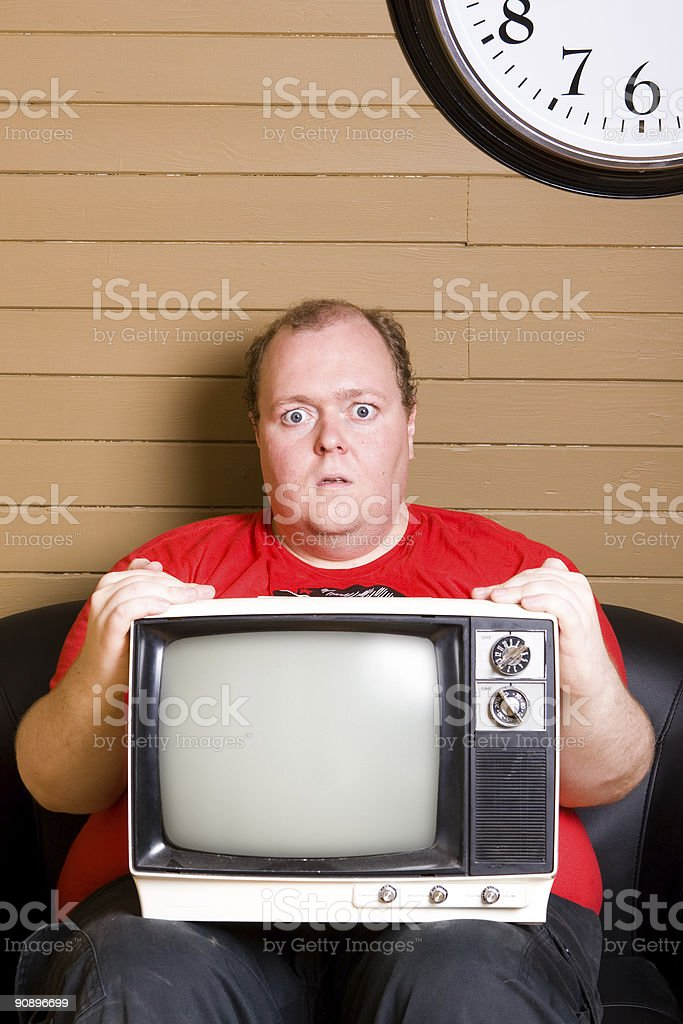The Analog Man royalty-free stock photo