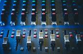 The analog studio mixer