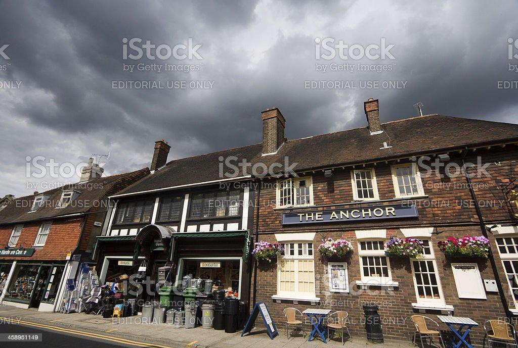 The Anchor in Sevenoaks, England royalty-free stock photo