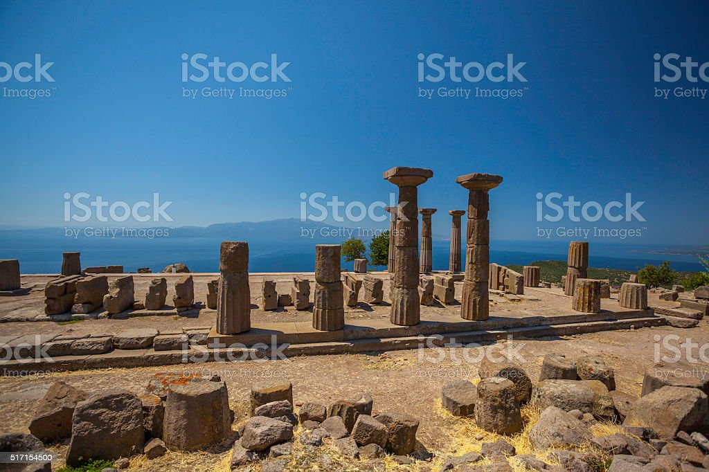 The Ancient Agora stock photo