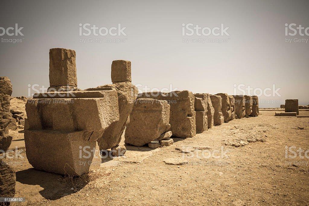 The Ancient Agora stock photo