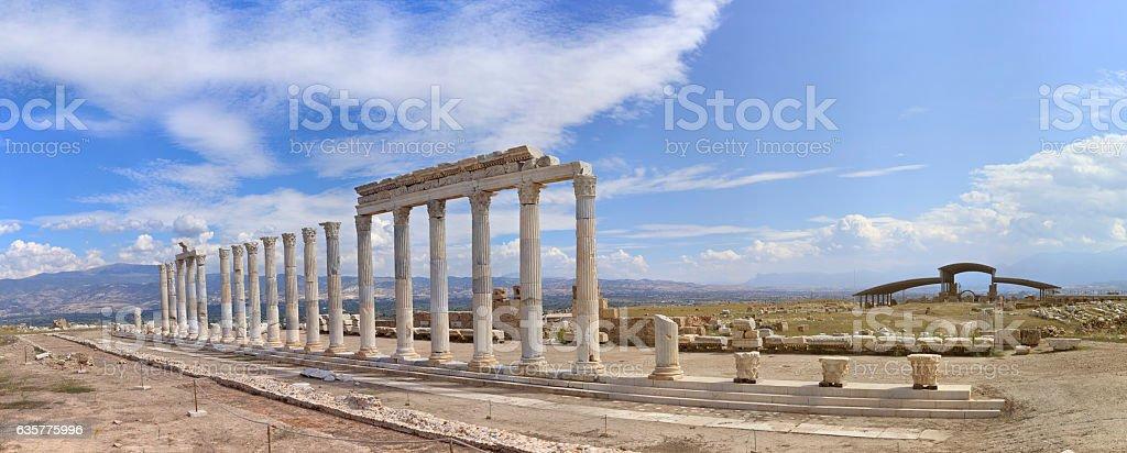 The Ancient City 'Laodikeia' - Panoramic 20000px stock photo