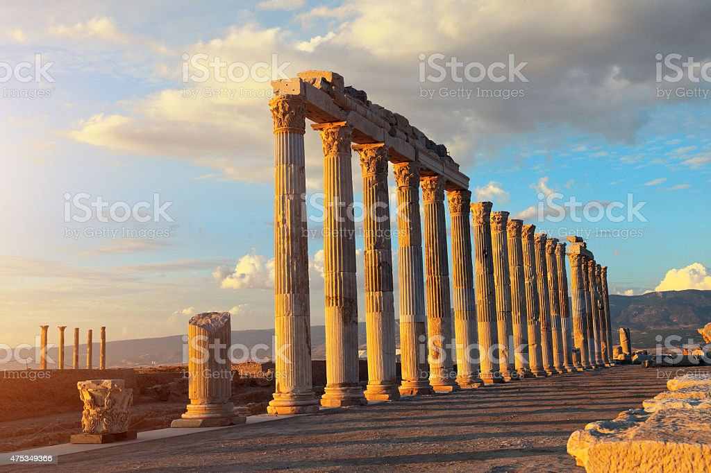 The Ancient City 'Laodikeia' stock photo