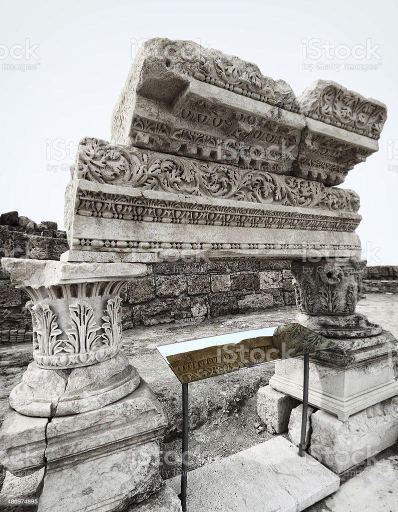 The Ancient City 'Laodikeia' stock photo