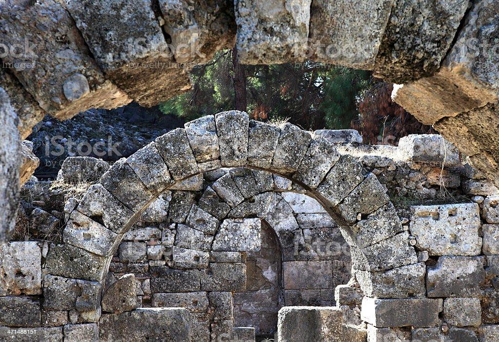 The ancient city stock photo