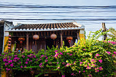 The ancient house in Hoi An ancient town